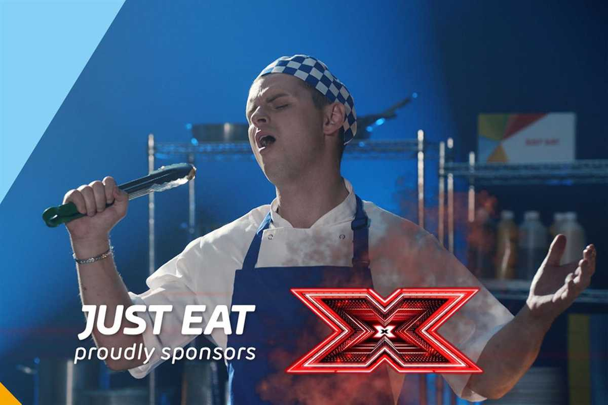 Just Eat and The X Factor TV sponsorship